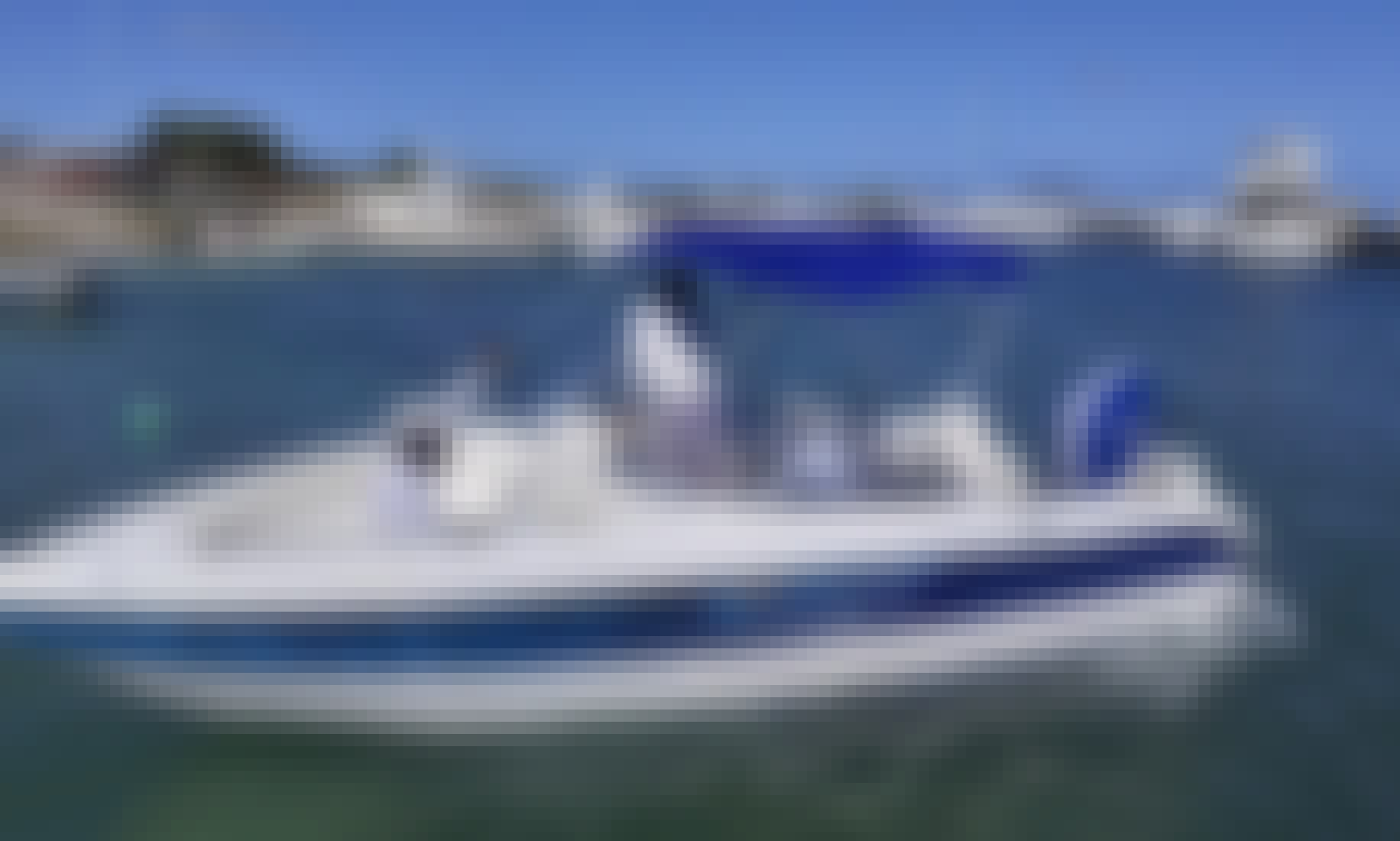 22ft Luxury SeaQuest Powerboat Including Captain @ Shell Beach Marina
