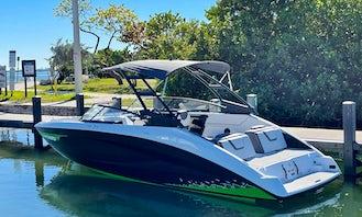 25' Yamaha 2021 Super Powerboat In Miami Beach, Florida!