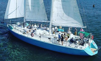 Large Modern Luxury Down-east Schooner Perfect for Private Sails and Events