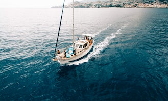 Dolphin and Whale Watching on a Sailing Yacht from Funchal, Madeira