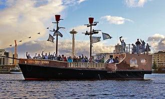 50' Pirate Ship Adventure Aboard Queen Anne's Revenge in Seattle