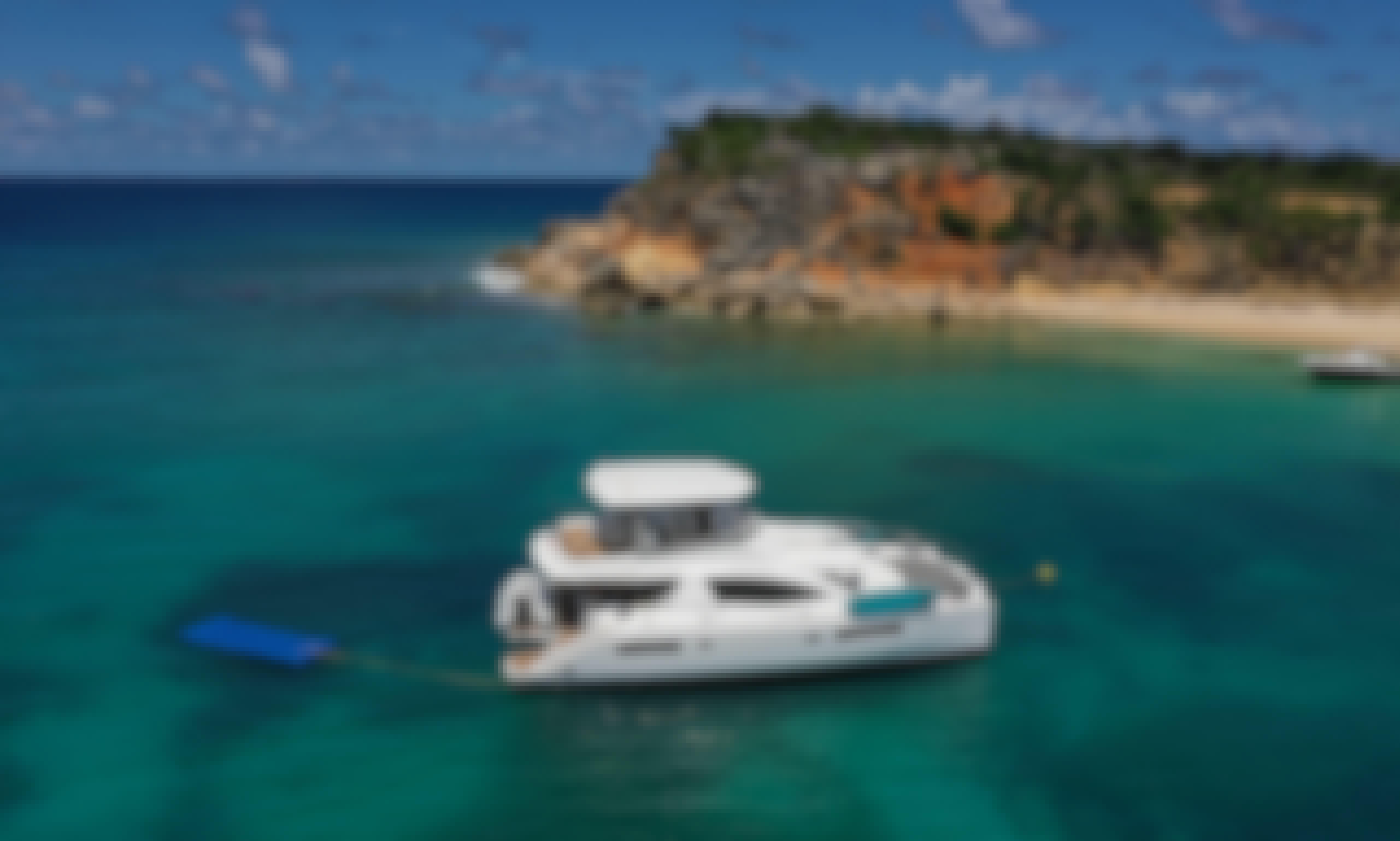 Charter 51' Leopard Power Catamaran in Collectivity of Saint Martin, Saint Martin