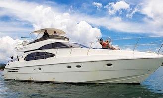 VIP Azimut 58ft Flybridge Yacht Cruise in Negril, Jamaica