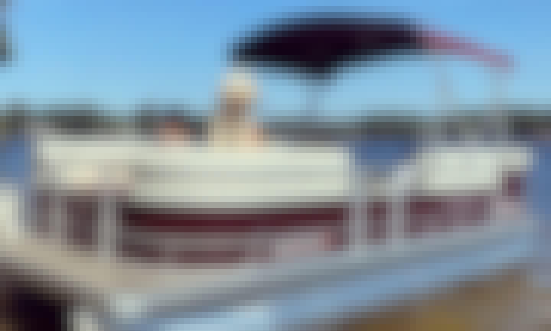 19.5' Godfrey Pontoon 2021!! 70HP on Ossipee Lake
