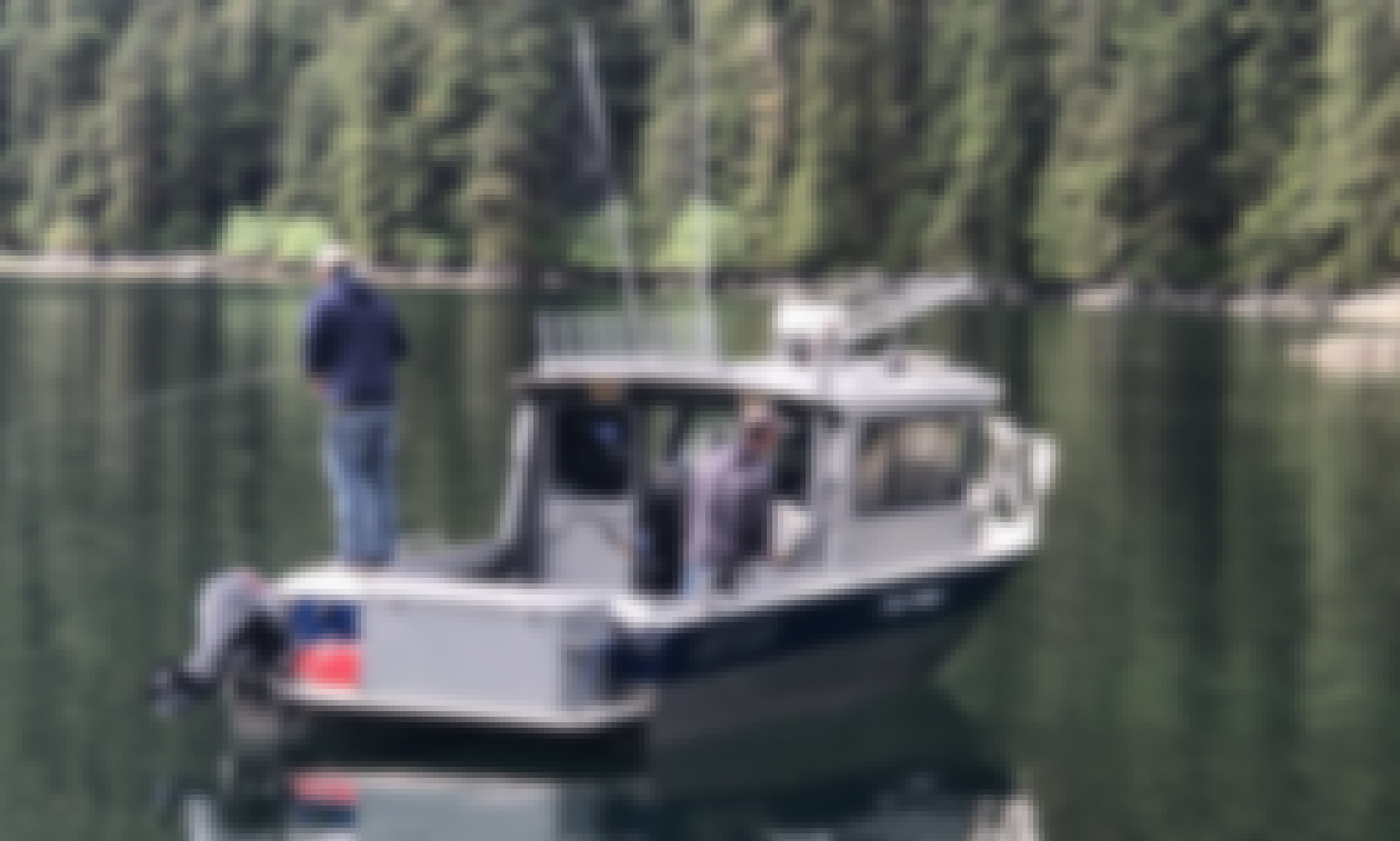 24' Diesel Powered North River Fishing Boat