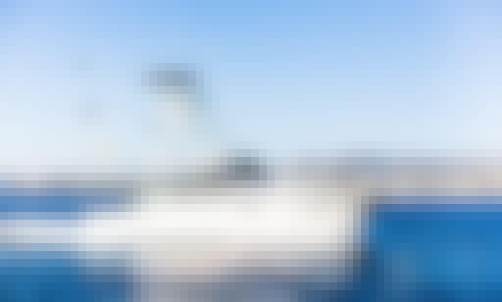"Best Fishing charter in Baja California Sur, Mexico aboard BLACKFIN 40"""