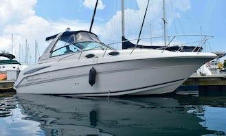 Delightful 31' Monterey Yacht In Chicago for Sightseeing & Playpen Visit