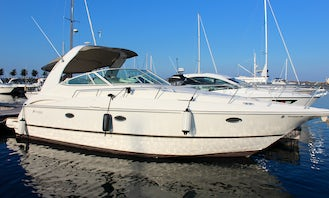 NEW!!! SPACIOUS 40ft Cruisers Yacht, Power (Captain & Gas may be included)  one of the Cleanest, Largest and Newer LUXURY Yachts on the Lake, Chicago.