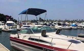 The King of Boats, 25' Sea Ray Sundancer Powerboat in Huntington Beach