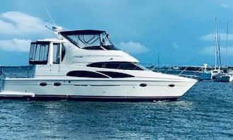 Explore Sarasota on this Amazing 44' Carver Motor Yacht!