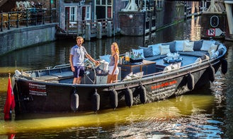 Book the 'Oceans Canal Boat' in Amsterdam, Netherlands (100% electric)