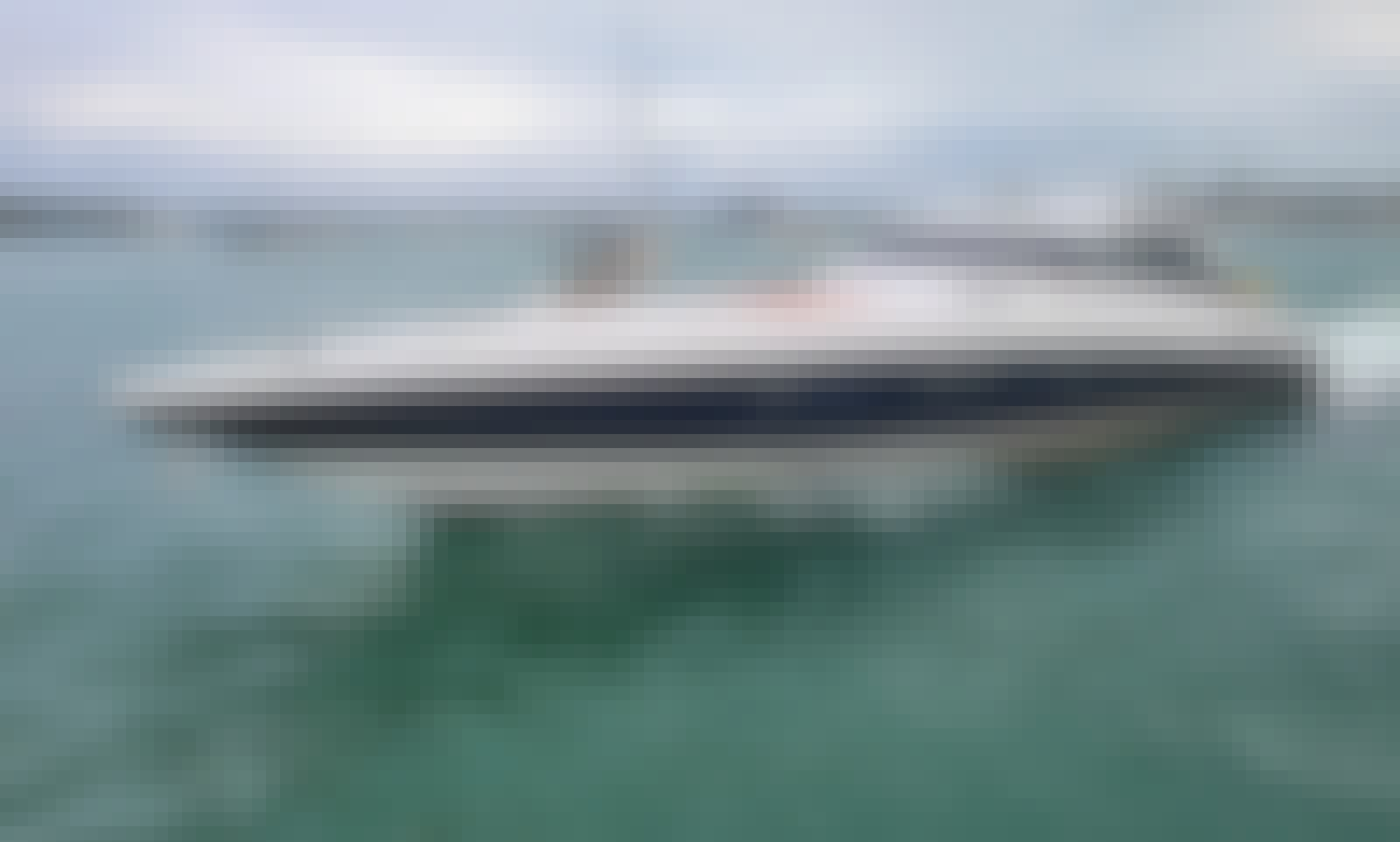 Luxurious 80ft Yacht  Baia Panther with Jacuzzi in Miami. Best price ever!!!
