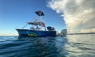 36' Custom Power Yacht Tour or Private Charter in Fajardo