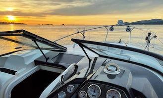 30 ft Larson Cabrio Private Powerboat – 2012 model – Cabo San Lucas, Mexico