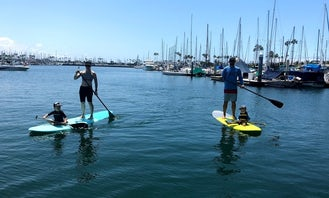 2 SOFT TOP SUP'S Delivered to Mother's Beach for All Day Fun