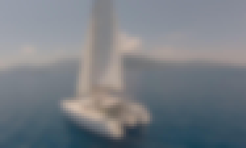 "Lagoon 400 ""Tortuga"" Sailing Catamaran in Lefkada"
