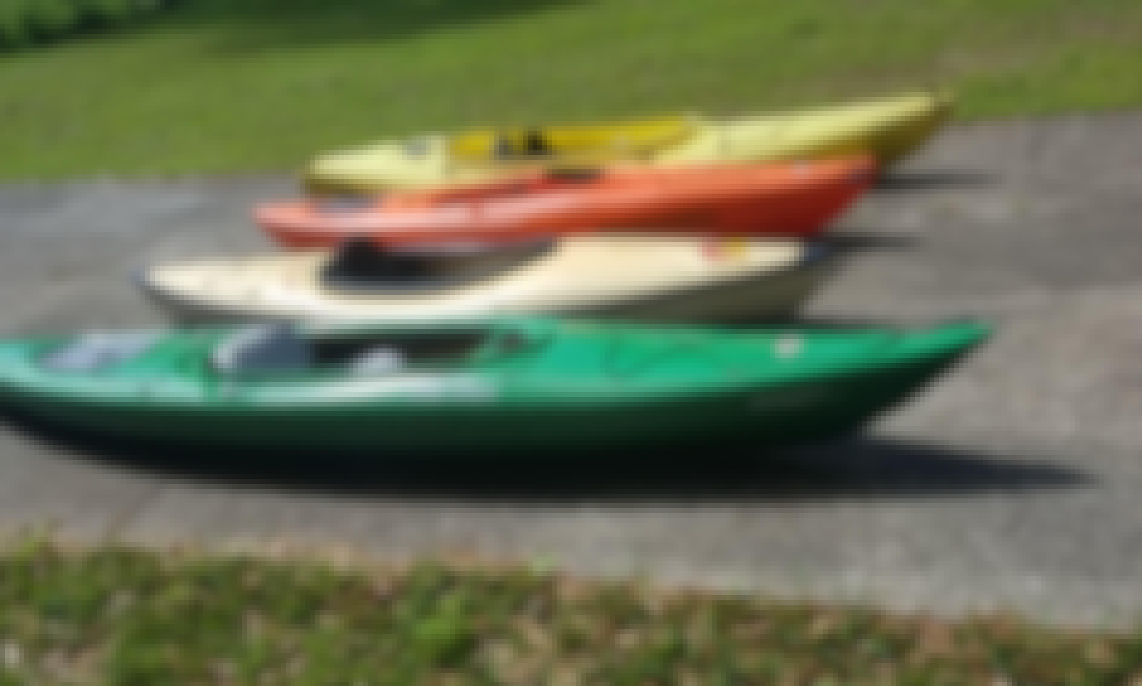 Sit Inside Kayaks for Rent in DeLand