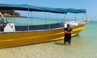 Super Panfa 34' Charter in Contadora Island