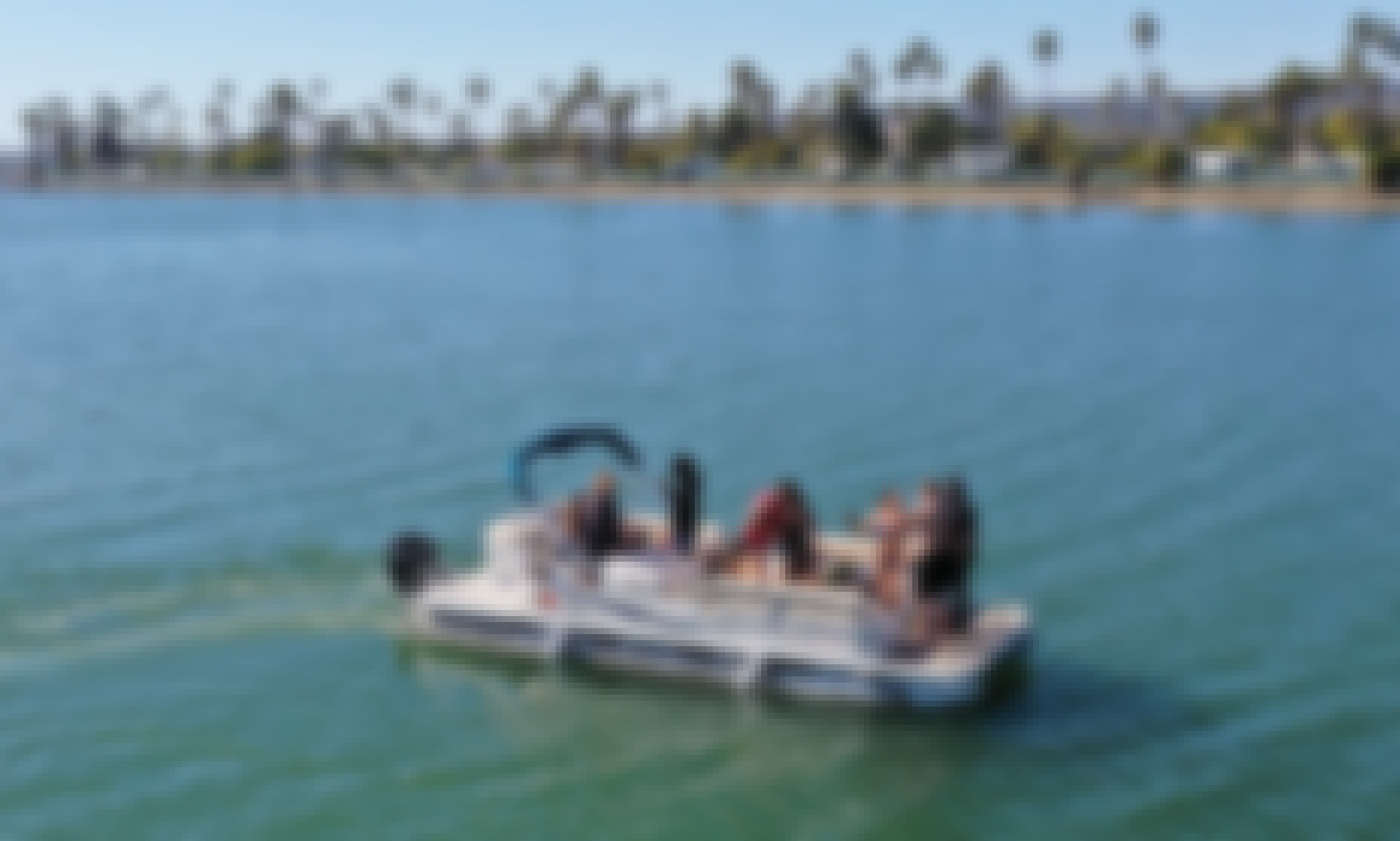 24' Pontoon Party Boat in Mission Bay! (12 People!) Rated #1🥇Party Cruise in San Diego! (Mission Bay or Downtown San Diego)