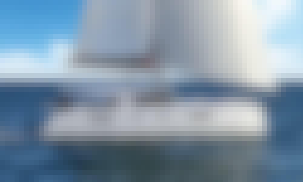 Nautitech 46 Open Cruising Catamaran Rental in Lavrion, Greece
