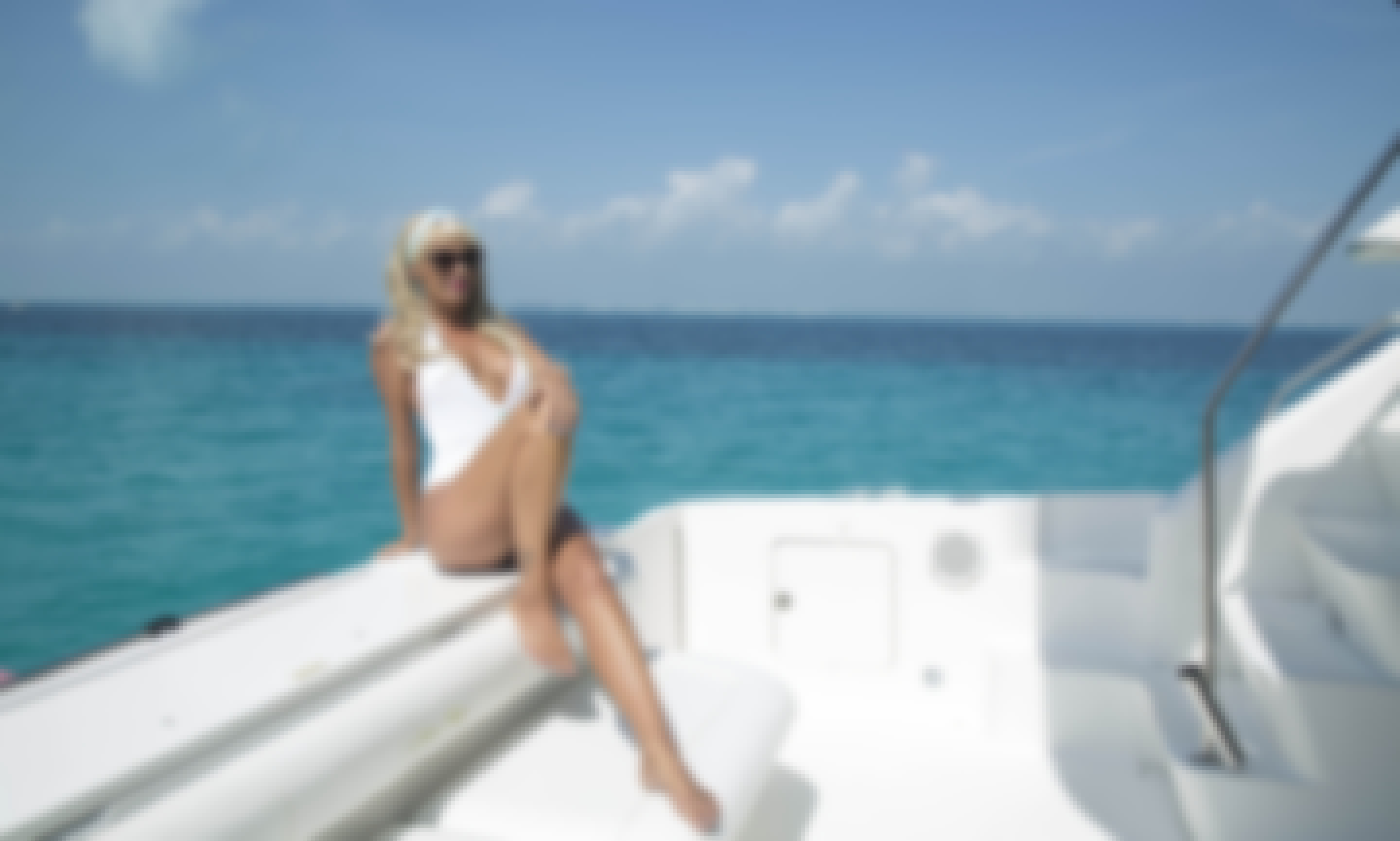 Sea Ray 45' Express Yacht for Charter in Cancun
