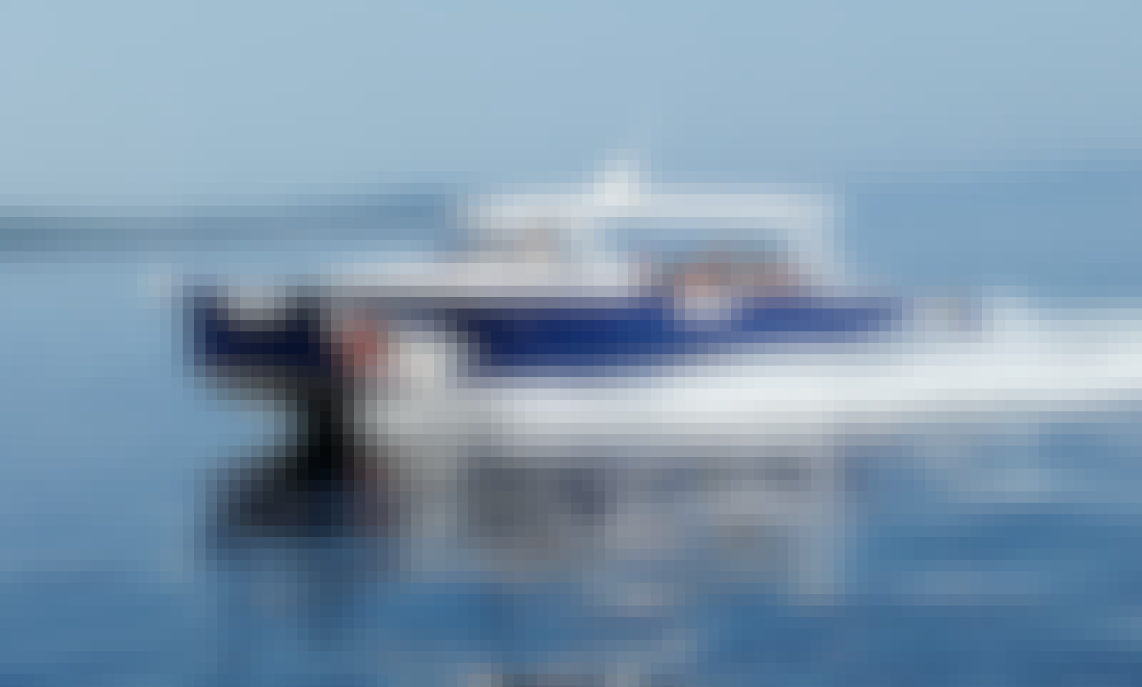 Private Boat Tours in Dalmatia with Colnago 35 Powerboat