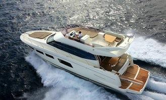 50' Prestige Luxury Yacht - Captain & Fuel Included