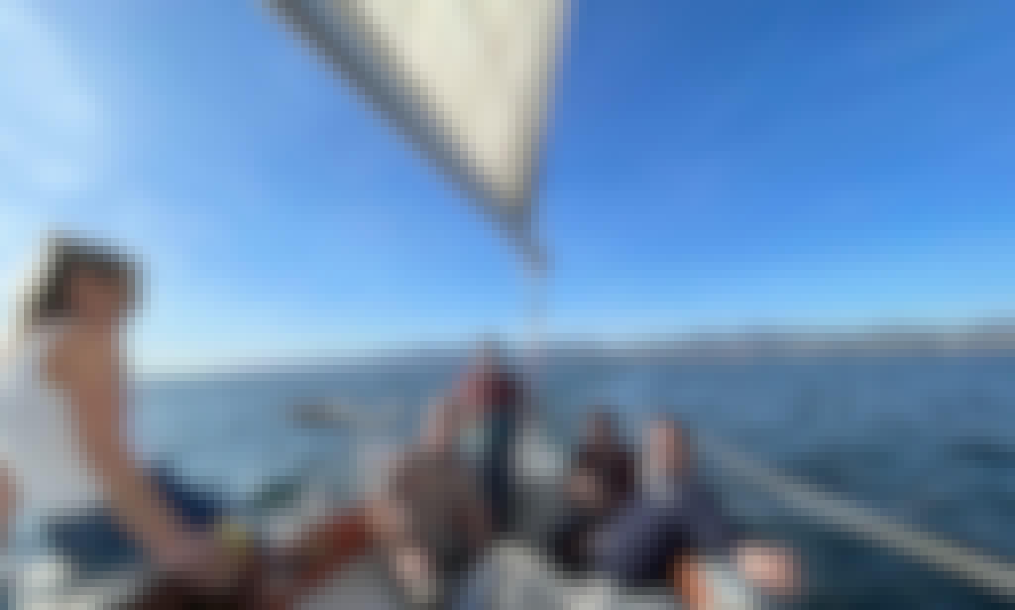 1969 Pacific Sailboat Adventure in Marina del Rey