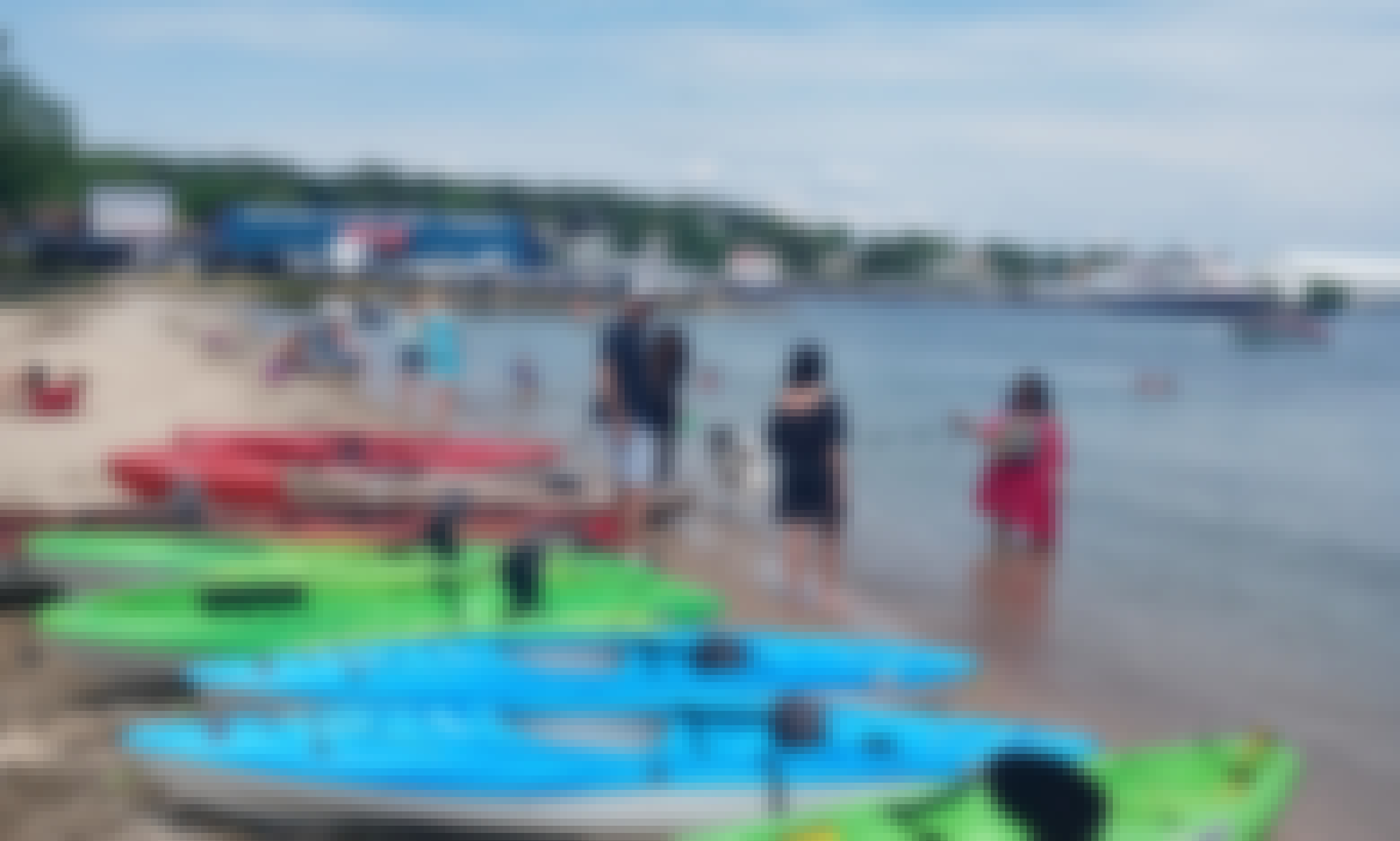 Kayaking in St. Ignace