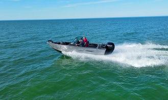 2020 Lowe 18' Fishing Machine with 150 HP Mercury Outboard