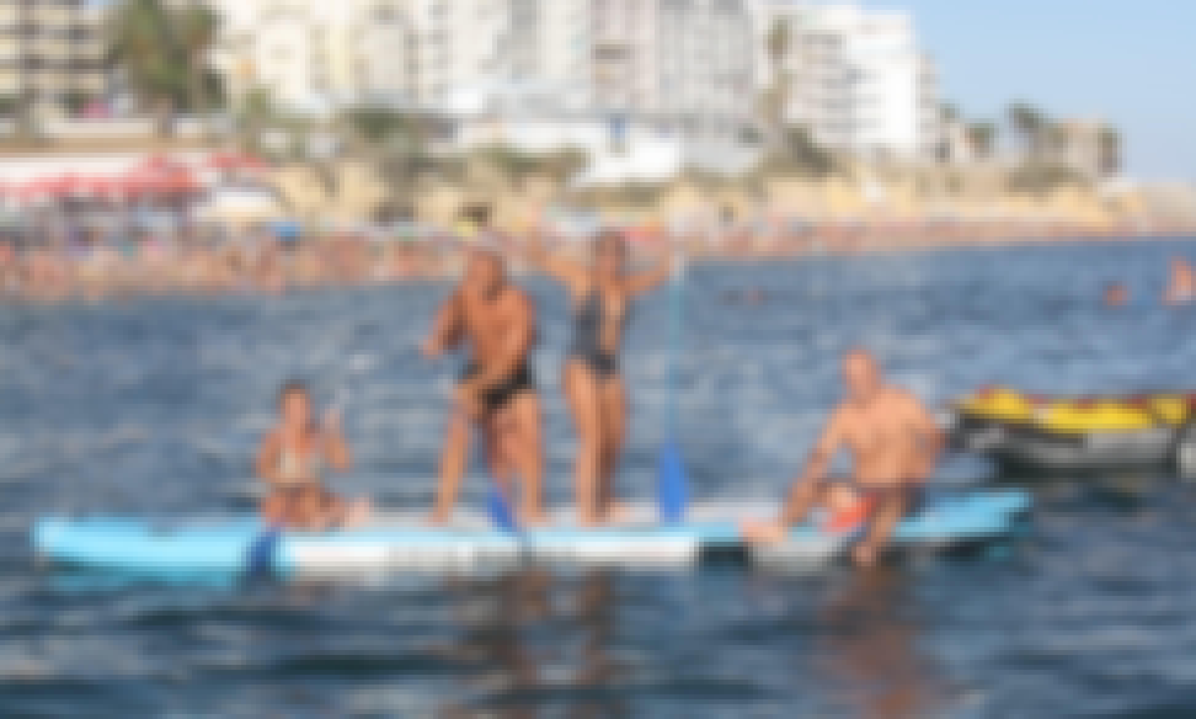Mega Paddle SUP in Armacao de Pera, Algarve, Portugal