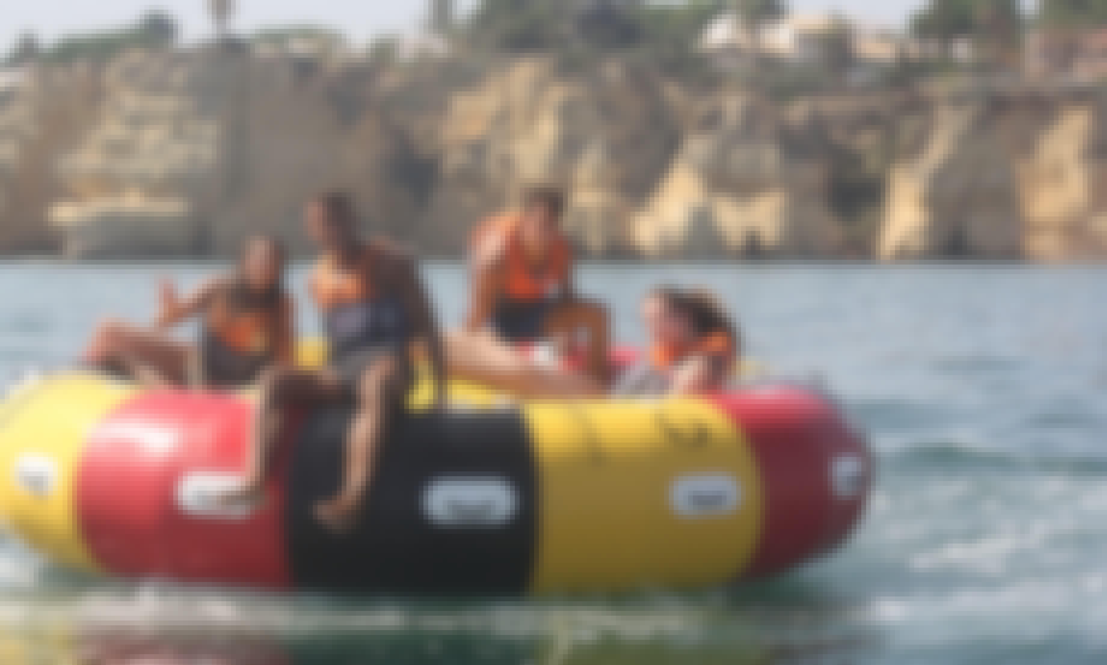 Aqua Twister Inflatable Tube in Armacao de Pera, Algarve, Portugal