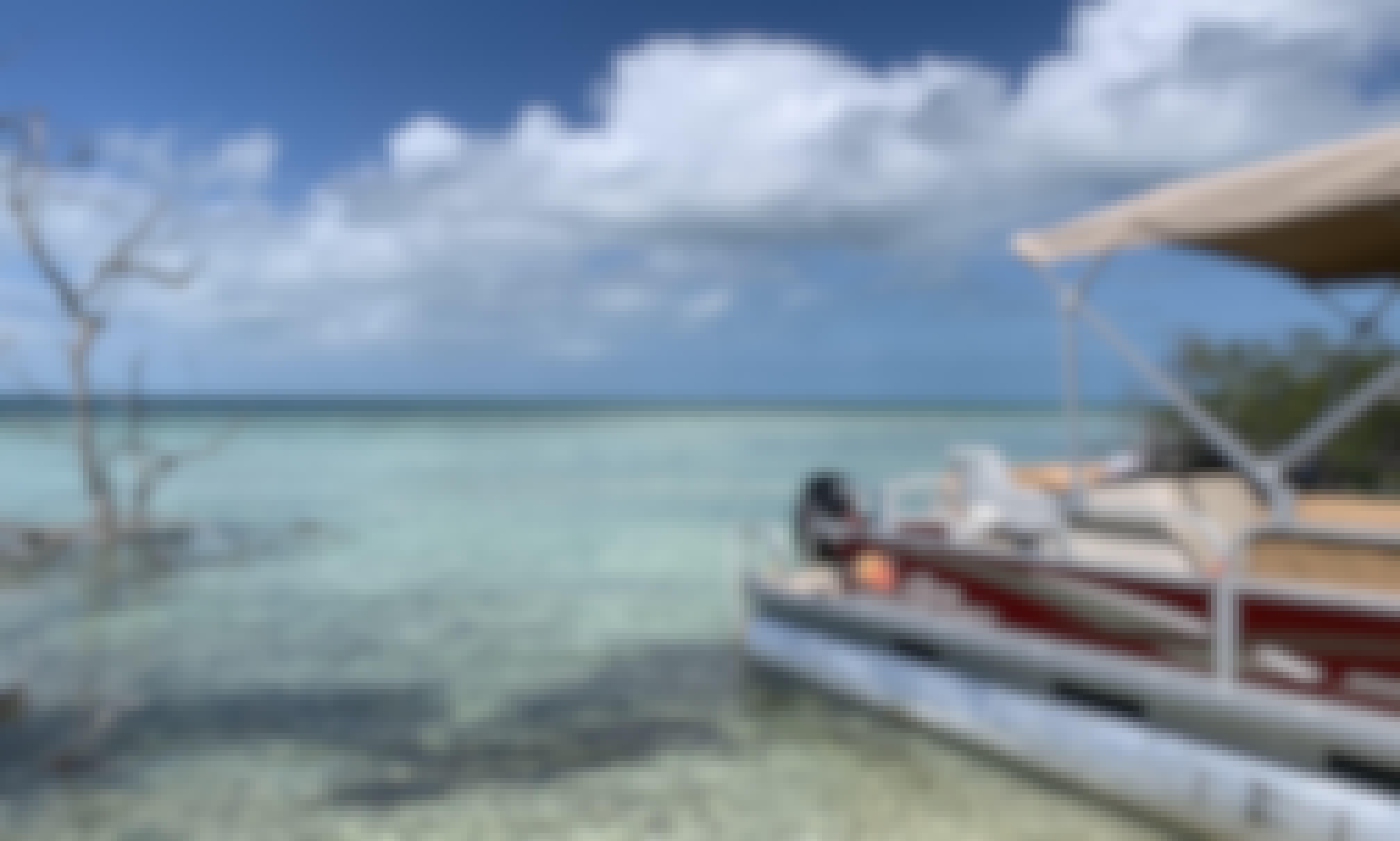 18' Party Barge Pontoon for Rent in Cudjoe Key, Florida!!!