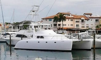 Spacious 50' Power Catamaran for 20 People in Punta Cana