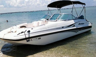 Hurricane Powerboat for Rent in West Palm Beach