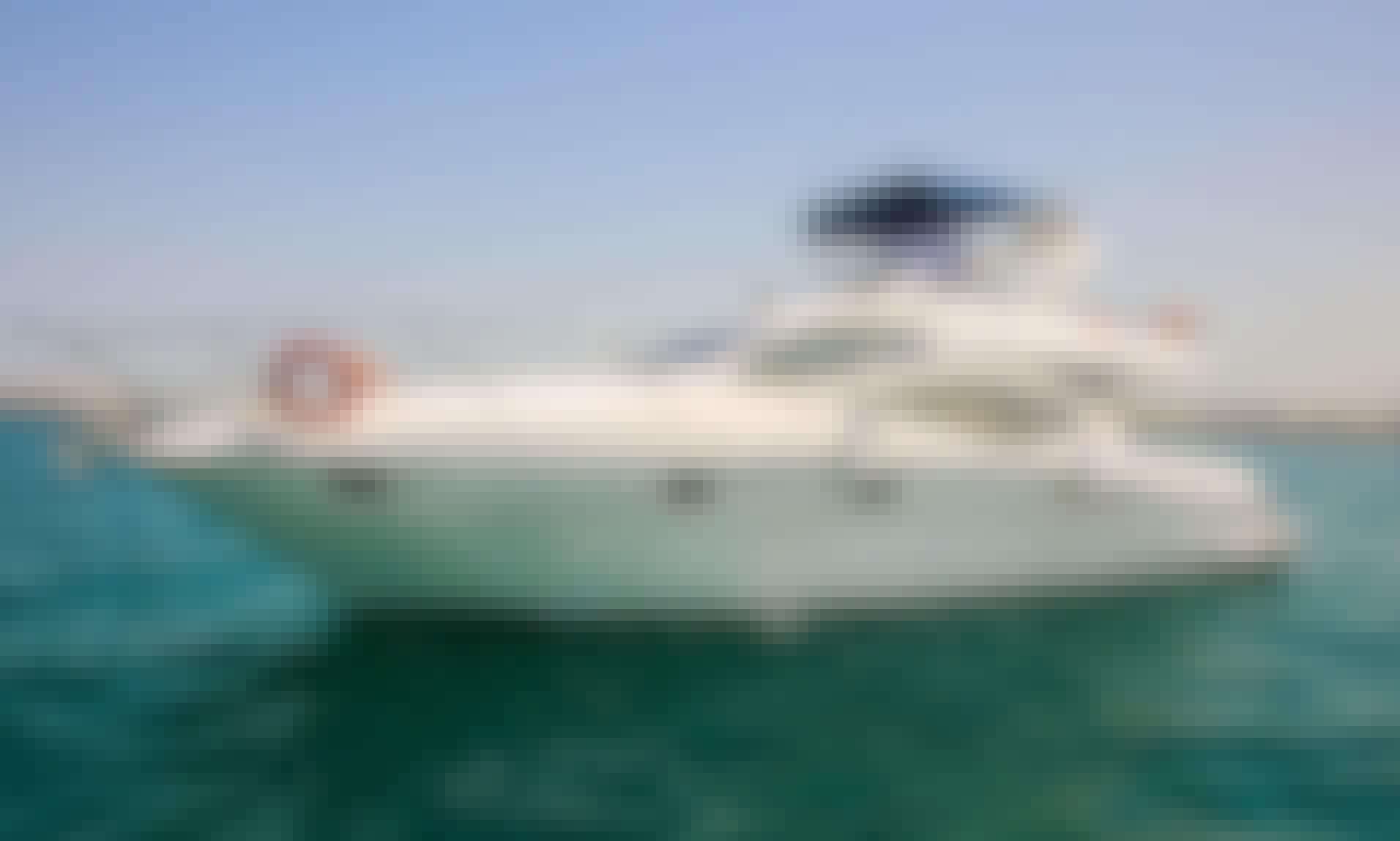 Most Luxurious 55ft Yacht in Dubai
