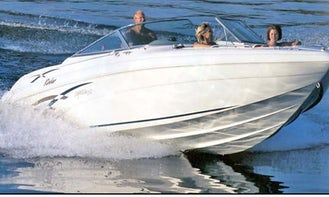 27' Rinker 272 Captiva for Rent in Lake of the Ozarks