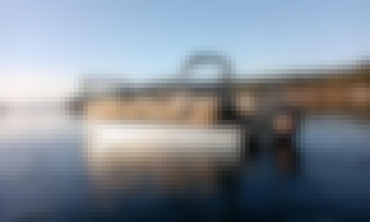 2021 High Performance 24' Pontoon Boat - Caribou