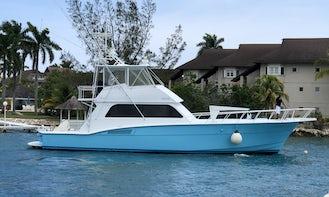 Hatteras 55' Sportfish Motor Yacht in Ocho Rios!