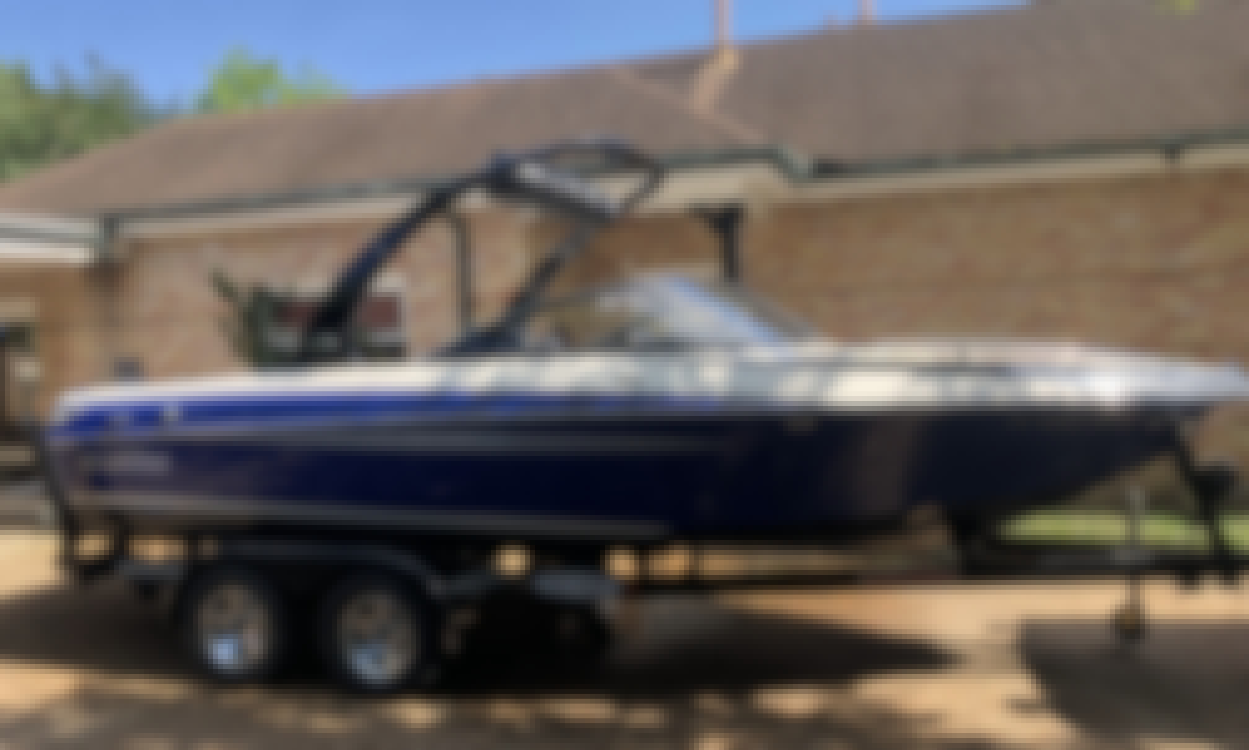 Rent 10 Person Malibu Sunsetter Wake/Ski Boat with watersports equipment included!