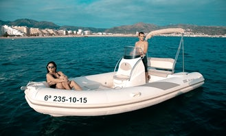 Rental of BSC-50 Pneumatic Boat for 10 People In Roses, Costa Brava