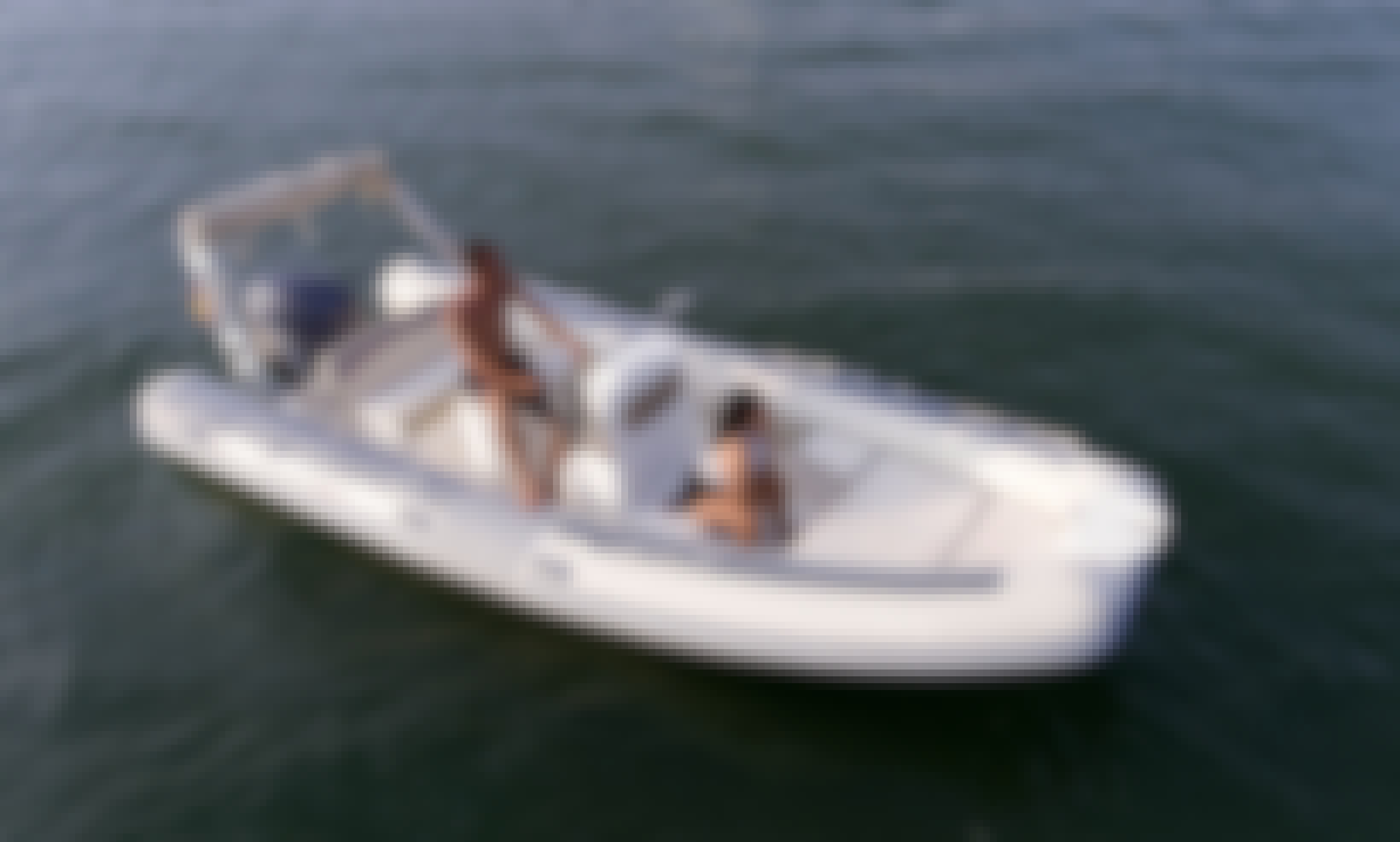 Rent In Costa Brava A Lomac 600 IN Inflatable Boat!