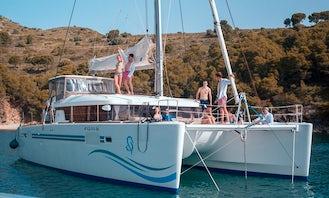 Captained Lagoon 450 Catamaran in Roses - Costa Brava