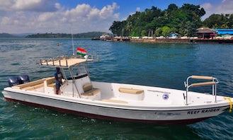 37ft Reef Raider Fishing Charter in Port Blair