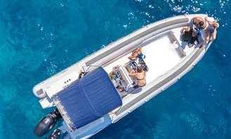 25' Skipper Rigid Inflatable Boat in Athens!