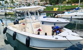 Rent Cobia 217CC to fishing and discovery the South Basse-Terre