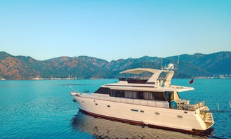 Maiora 78 Power Mega Yacht Charter in Muğla, Turkey