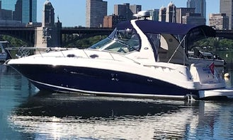 Sea Ray Sundancer 36' for Charter! Warm & dry even on rainy days!
