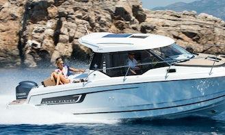 Rent Power boat Jeanneau Merry fisher 795 in Krk, Croatia