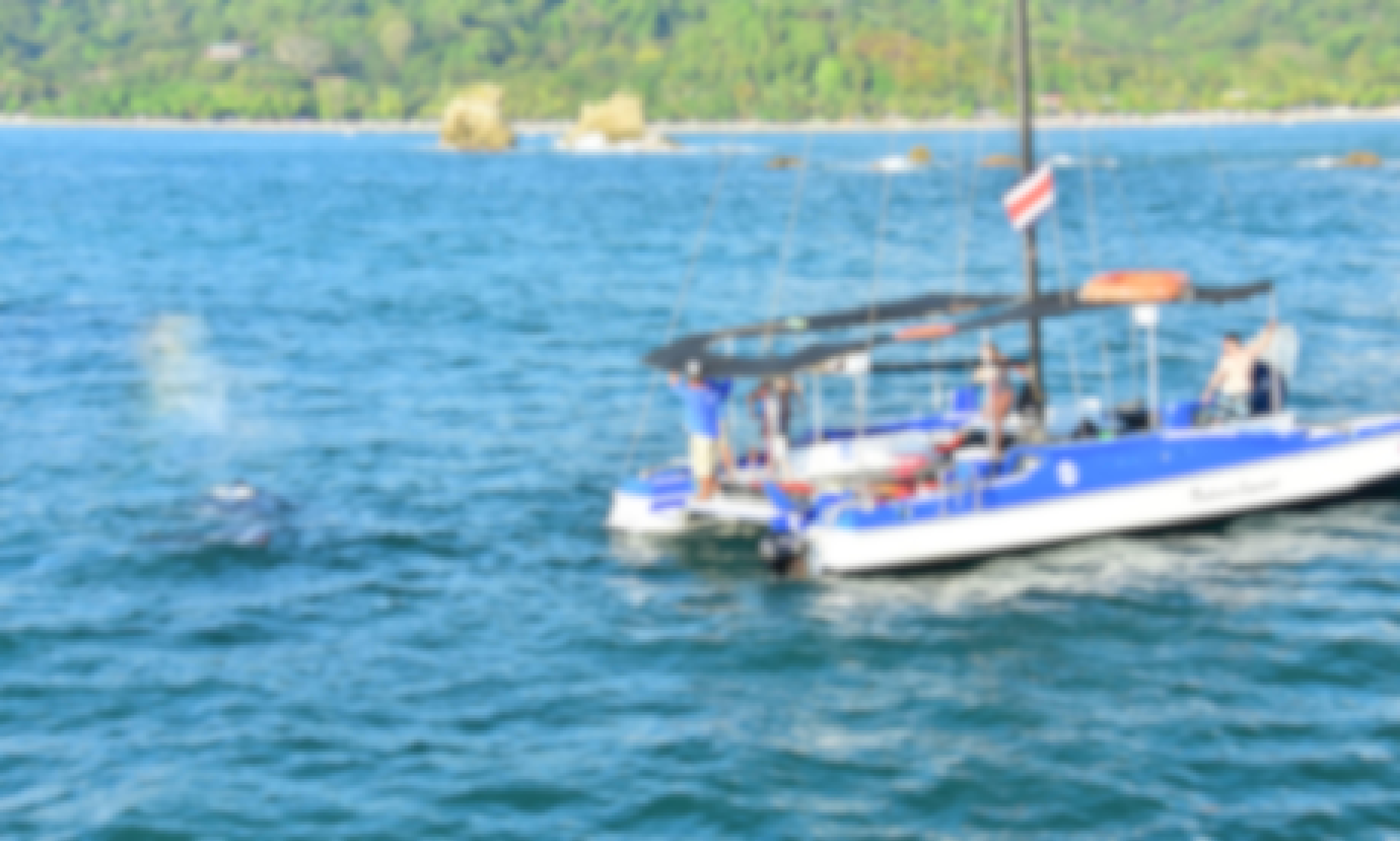 Private ''Spanish Dancer'' Catamaran in Costa Rica